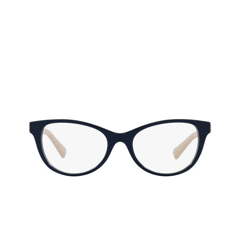 Valentino® Oval Eyeglasses: VA3057 color Blue 5034.