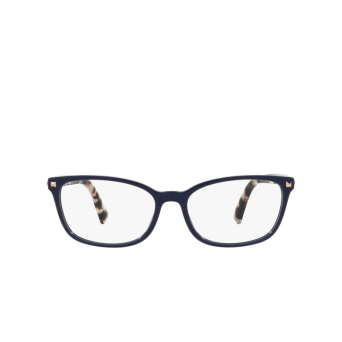 Valentino® Rectangle Eyeglasses: VA3060 color Blue 5034.