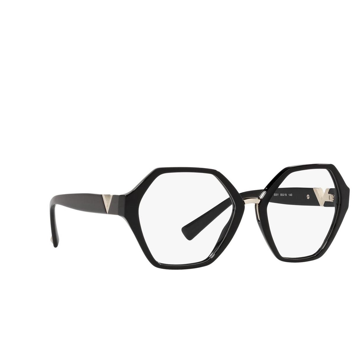 Valentino® Irregular Eyeglasses: VA3062 color Black 5001.