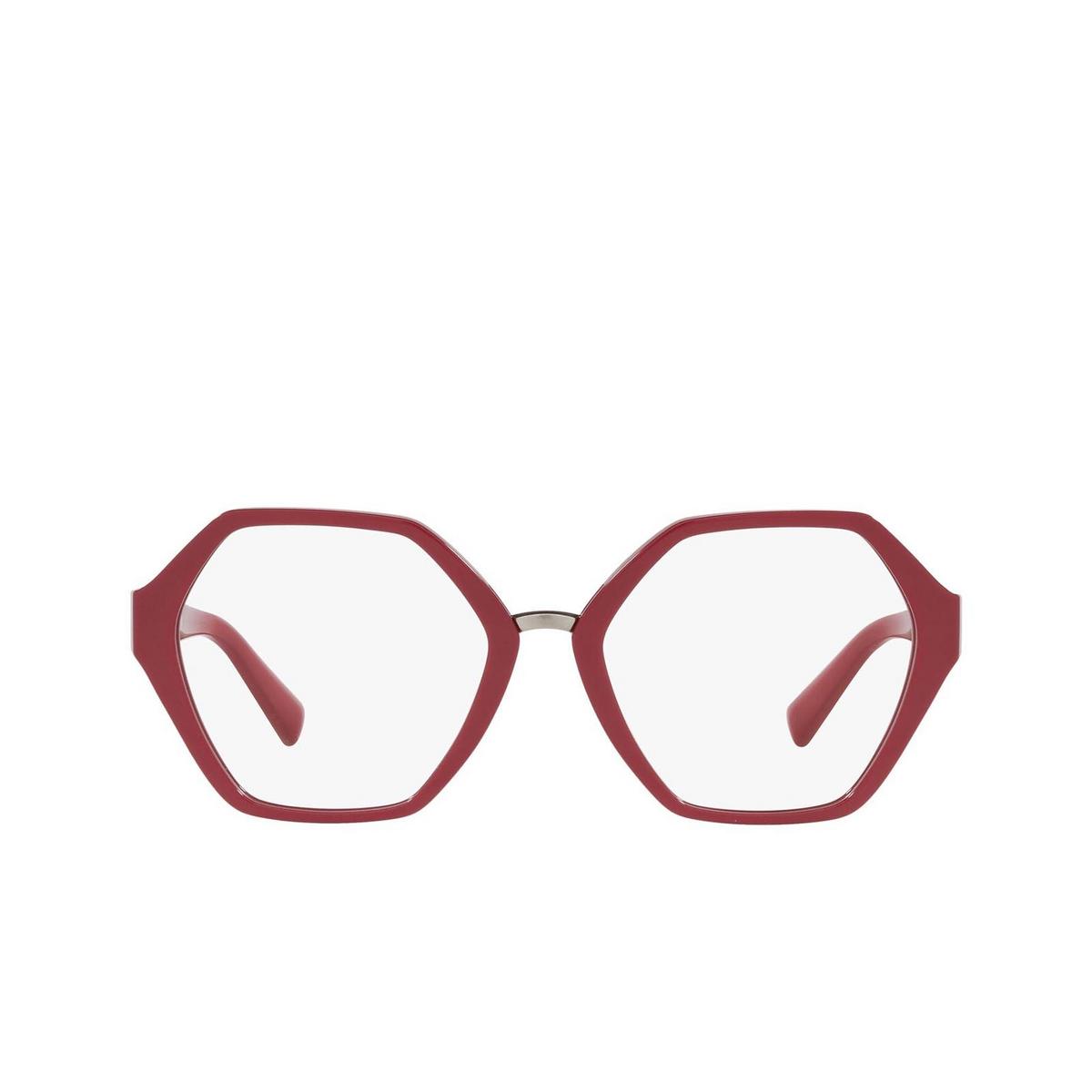 Valentino® Irregular Eyeglasses: VA3062 color Red 5110.