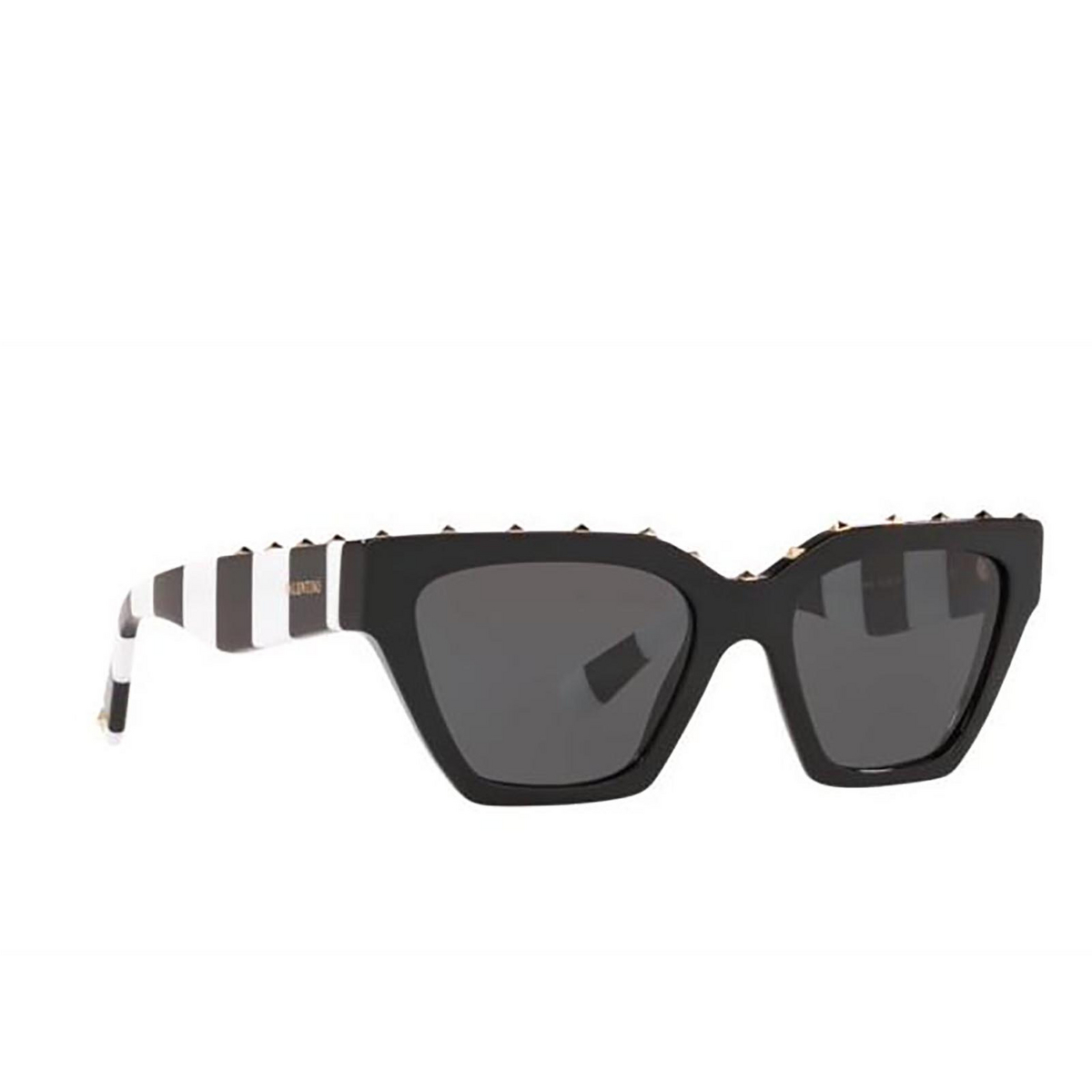 Valentino® Irregular Sunglasses: VA4046 color Black 515387.