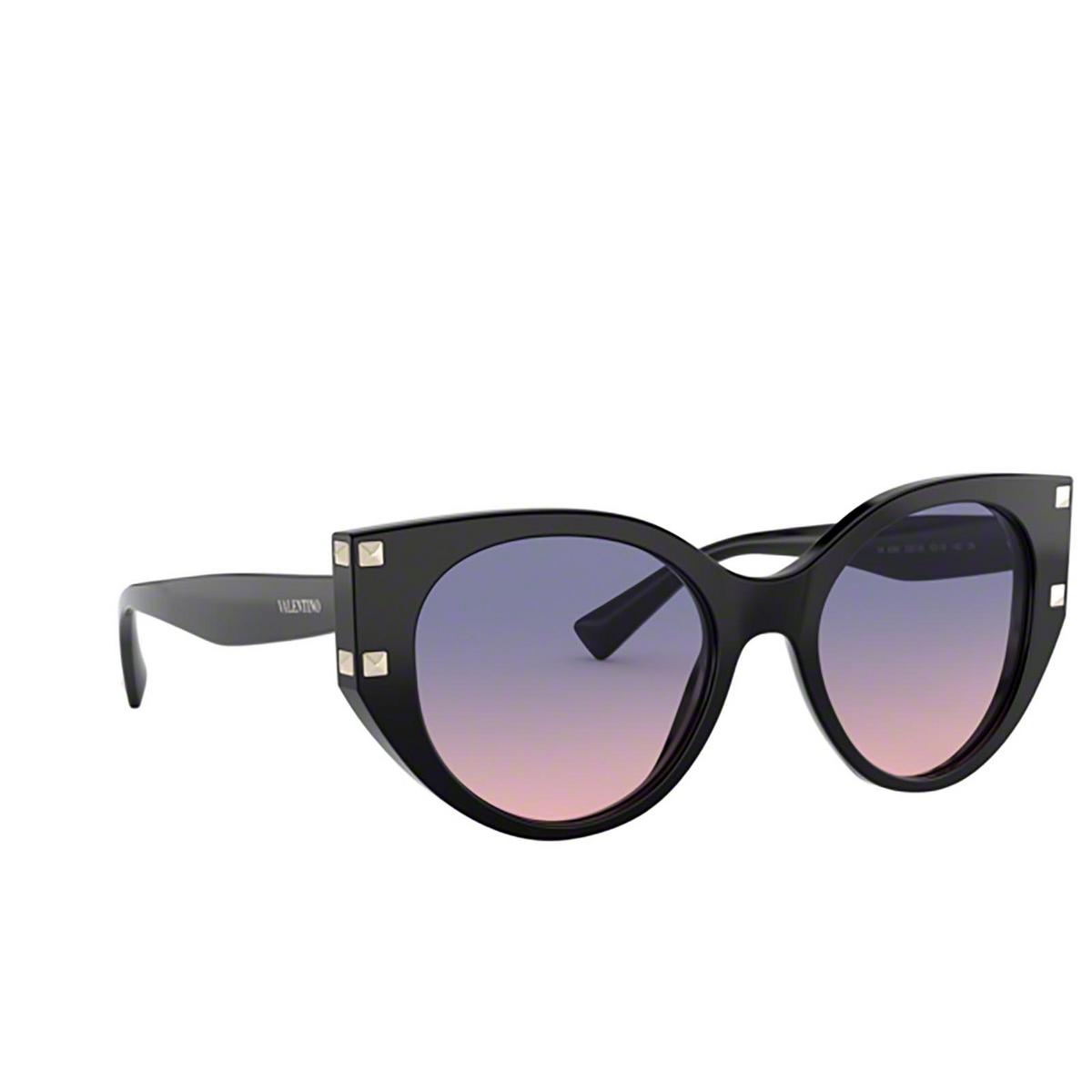 Valentino® Cat-eye Sunglasses: VA4068 color Black 5001I6.