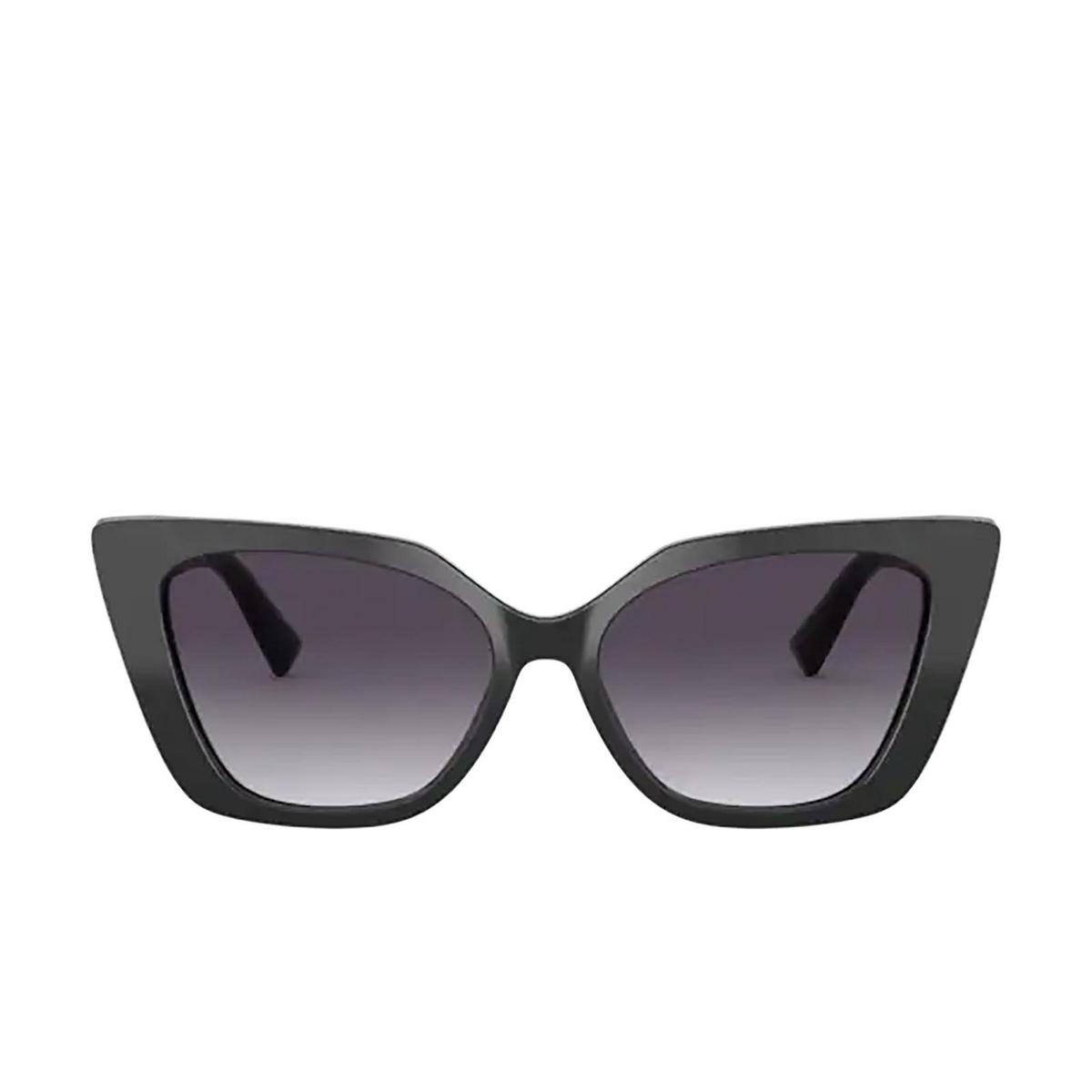 Valentino® Cat-eye Sunglasses: VA4073 color Black 50018G - front view.