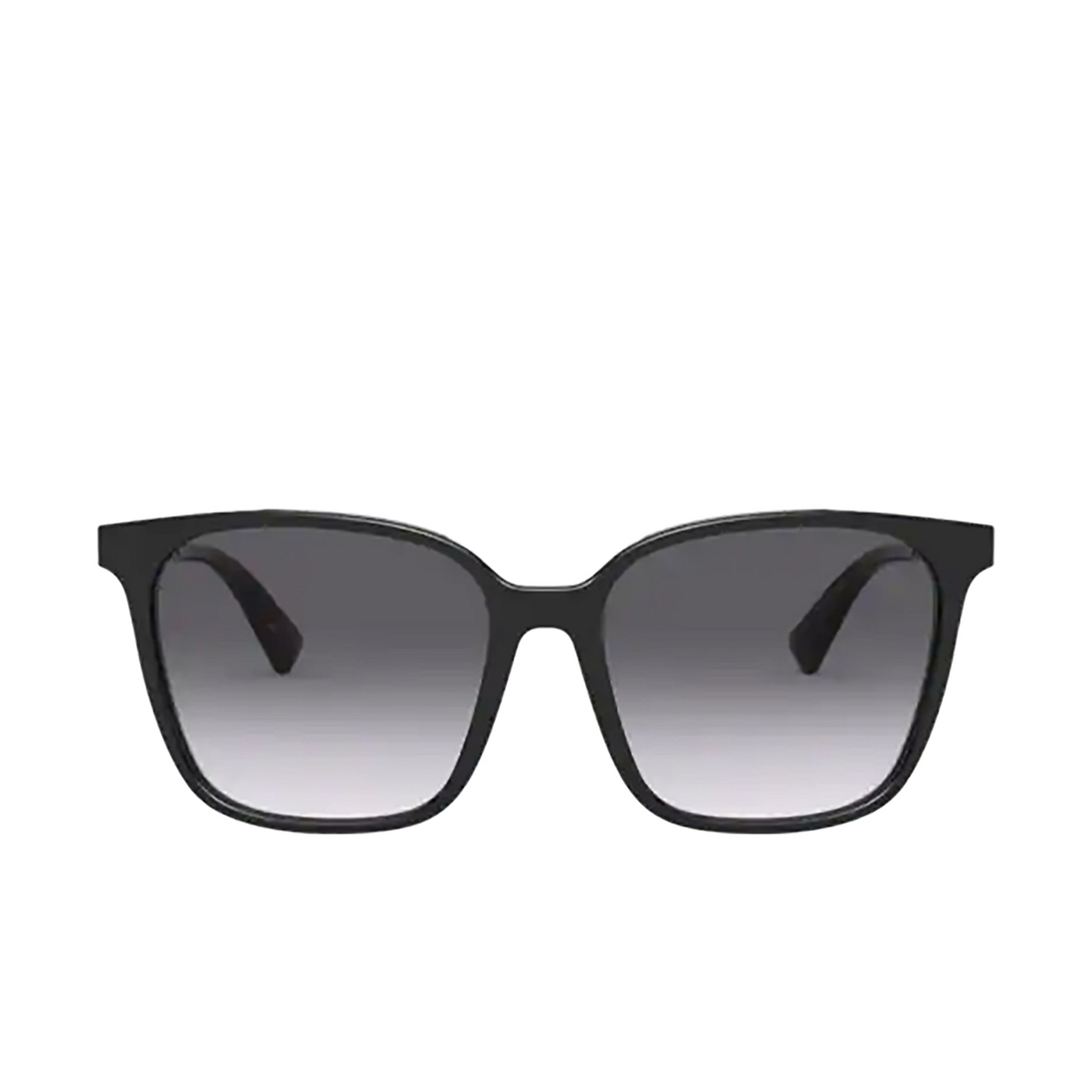 Valentino® Square Sunglasses: VA4078 color Black 50018G - front view.