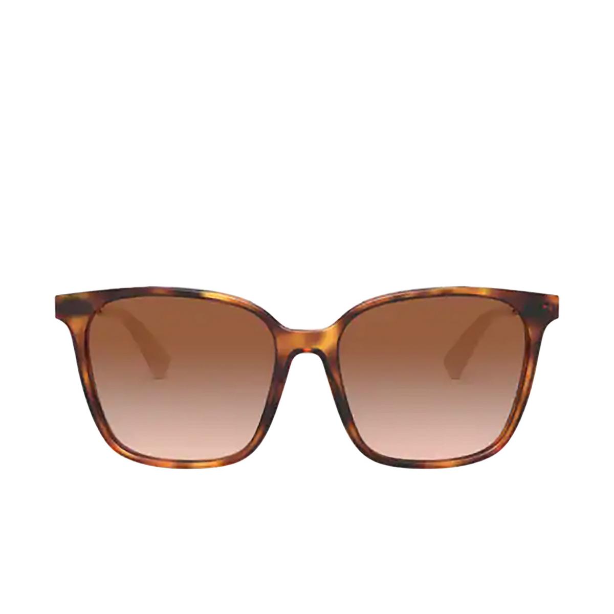 Valentino® Square Sunglasses: VA4078 color Havana 501113 - front view.