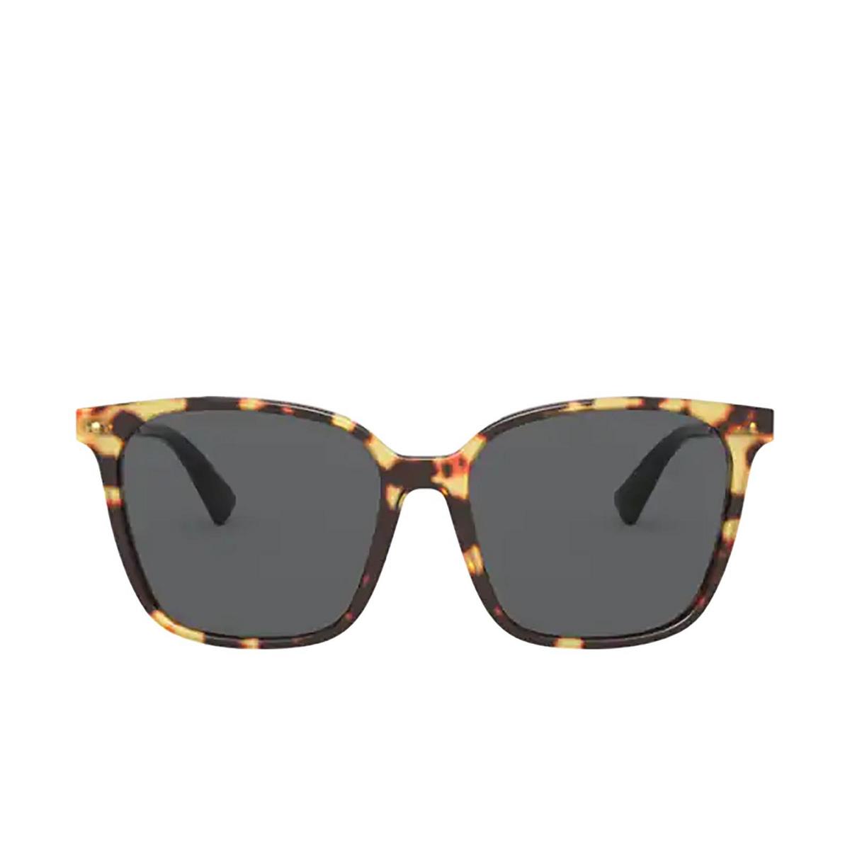Valentino® Square Sunglasses: VA4078 color Havana 503687 - front view.