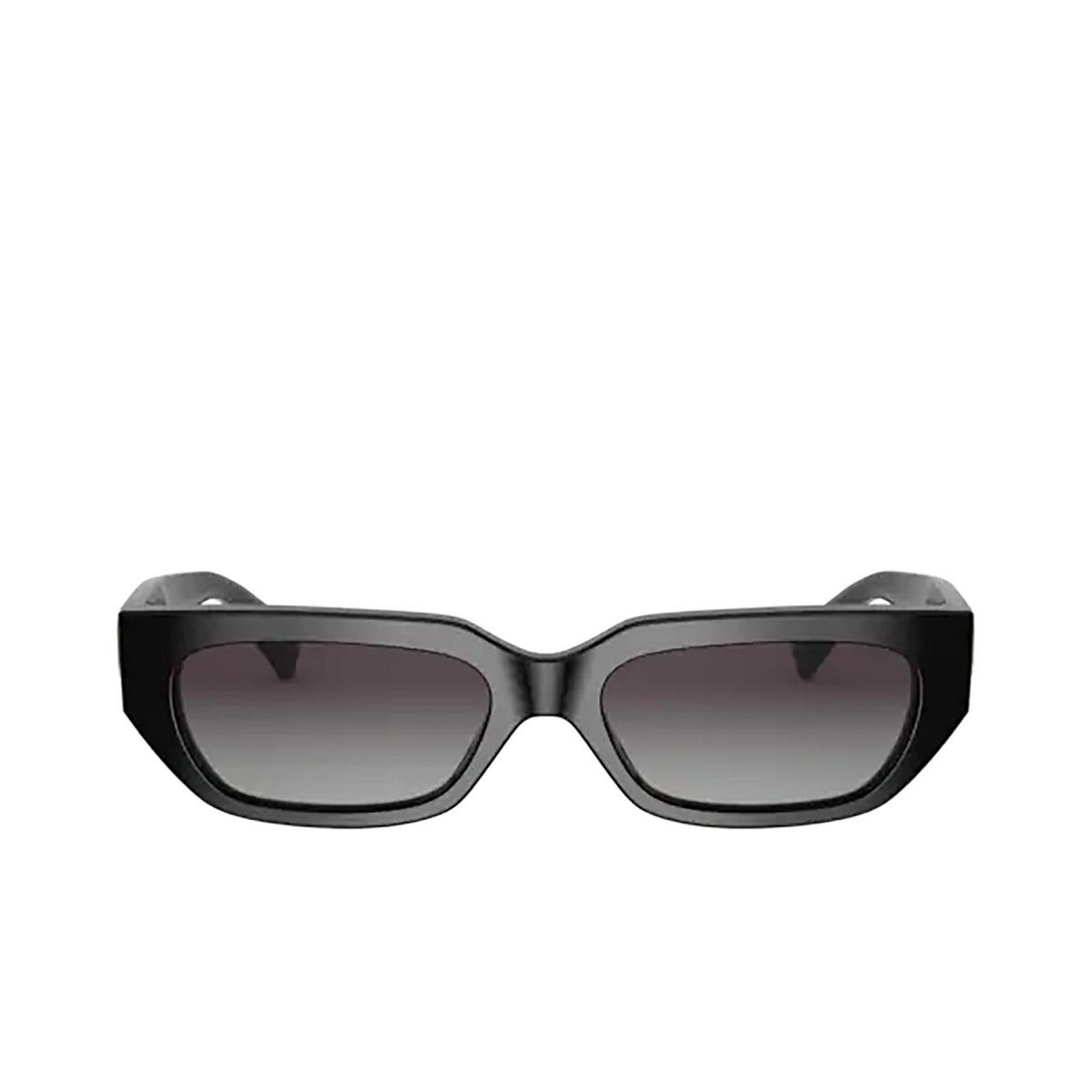 Valentino® Rectangle Sunglasses: VA4080 color Black 50018G.