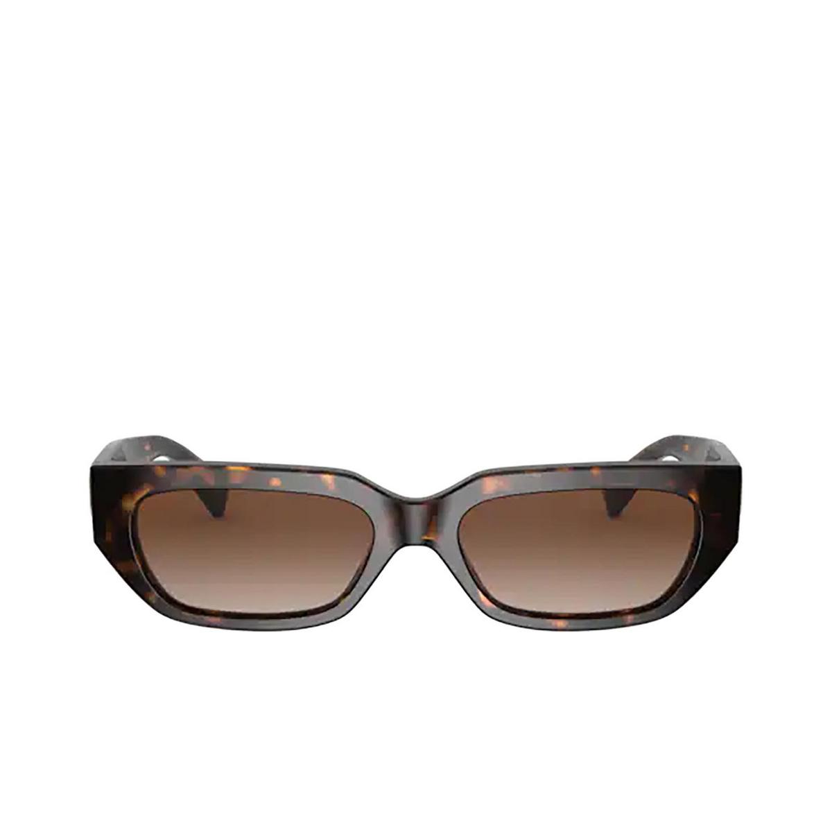 Valentino® Rectangle Sunglasses: VA4080 color Havana 500213.