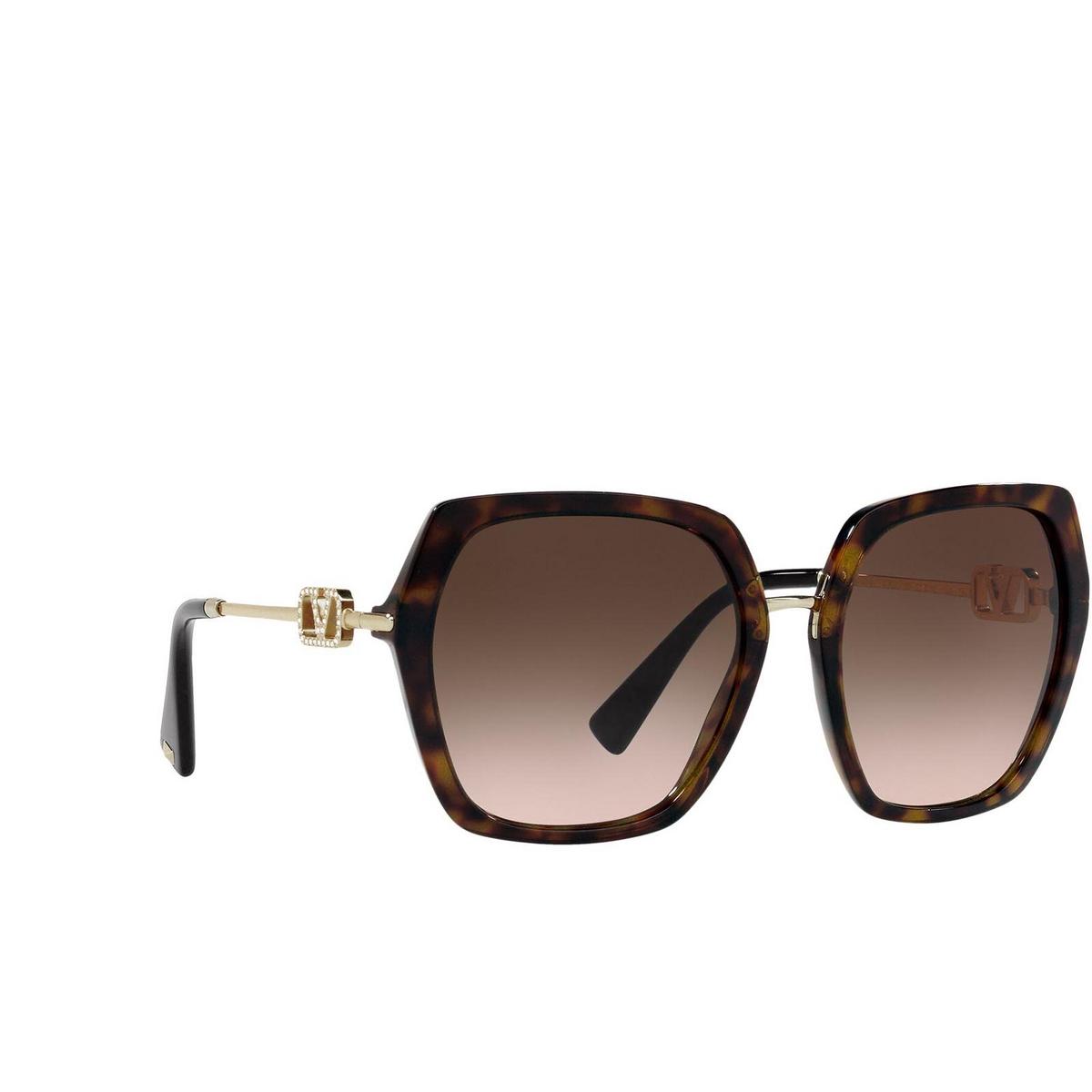 Valentino® Irregular Sunglasses: VA4081 color Havana 500213.