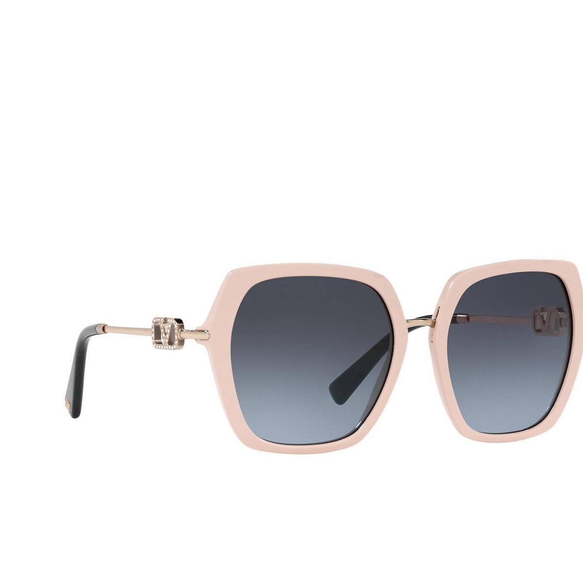 Valentino® Irregular Sunglasses: VA4081 color Beige 51688F.