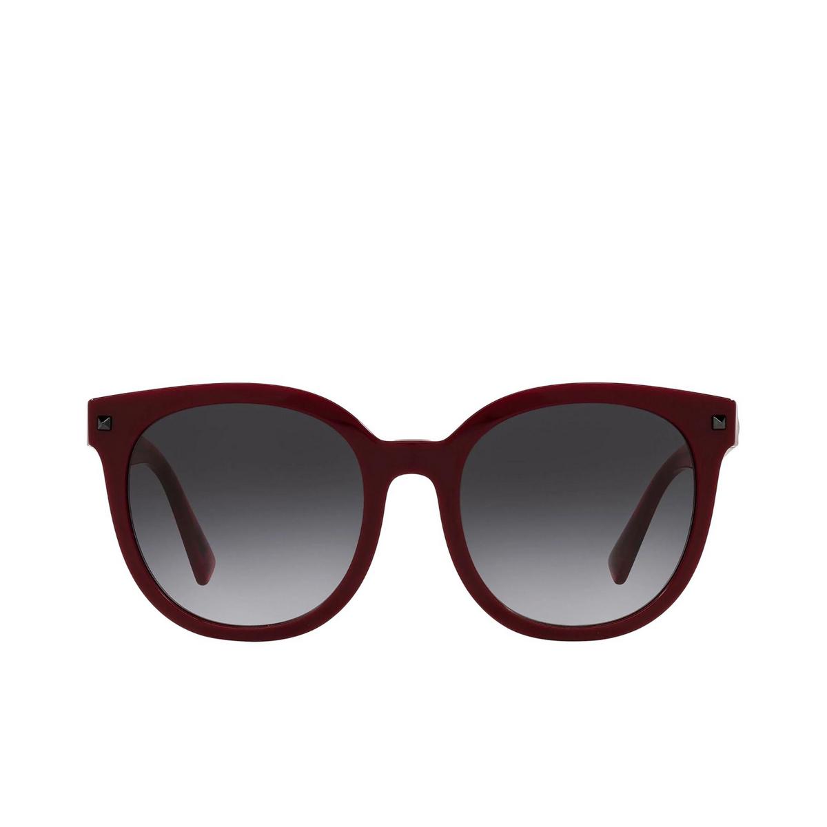 Valentino® Round Sunglasses: VA4083 color Bordeuax 51398G.