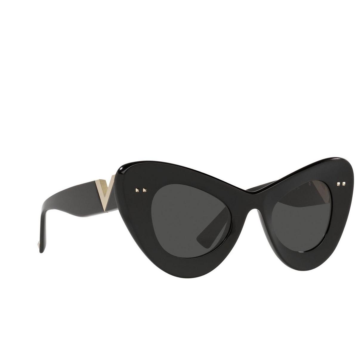 Valentino® Cat-eye Sunglasses: VA4090 color Black 500187.