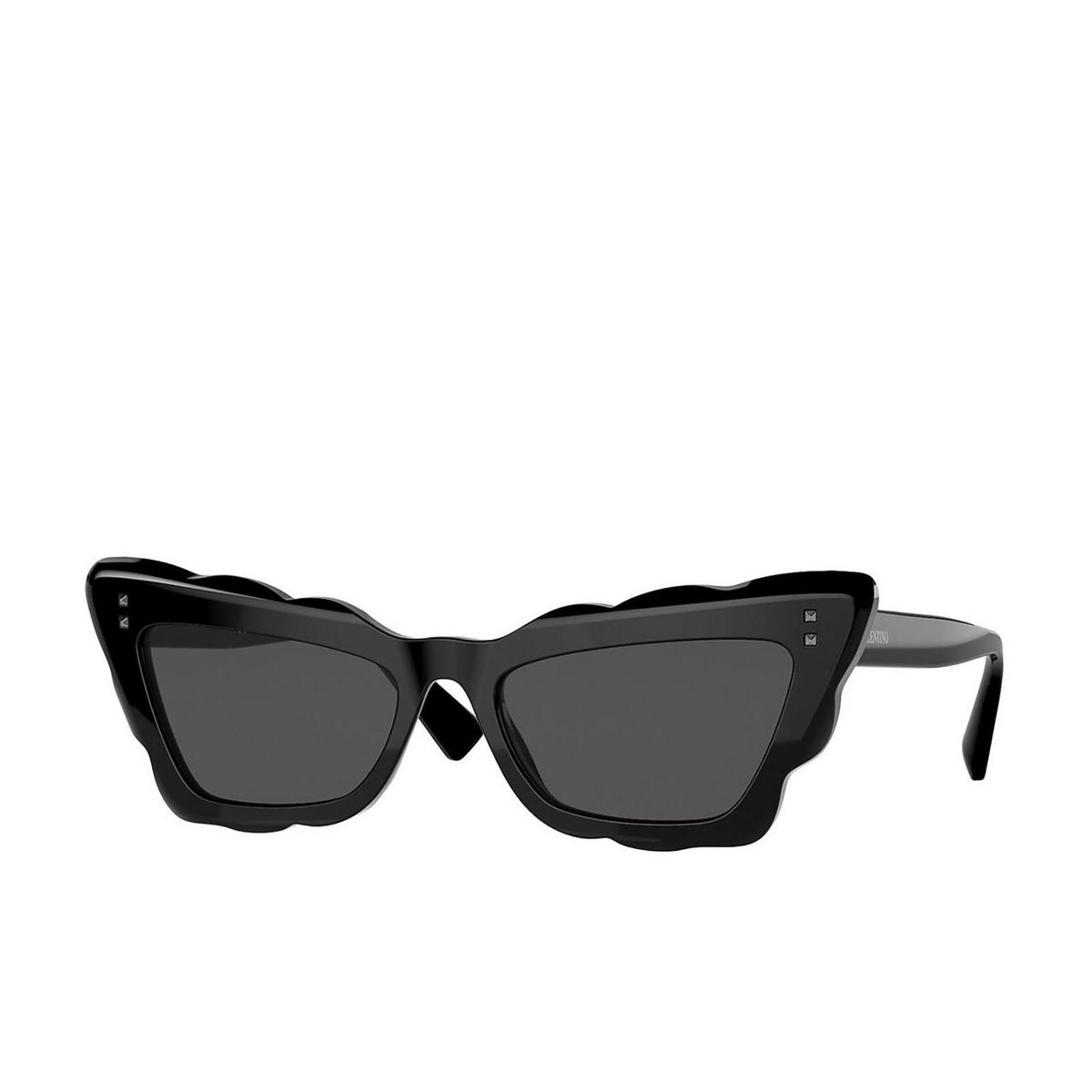 Valentino® Cat-eye Sunglasses: VA4092 color Black 500187.