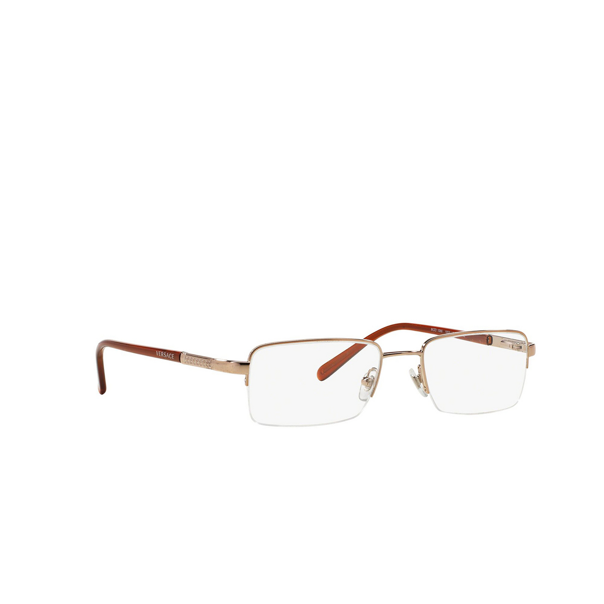 Versace® Rectangle Eyeglasses: VE1066 color Bronze Copper 1053.