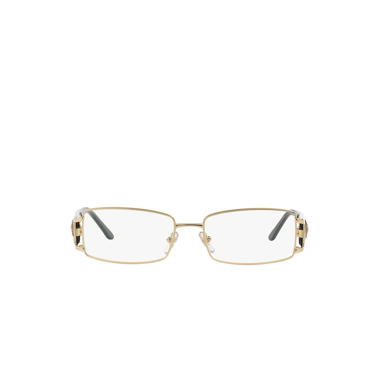 Versace® Rectangle Eyeglasses: VE1163M color Pale Gold 1252 - front view.