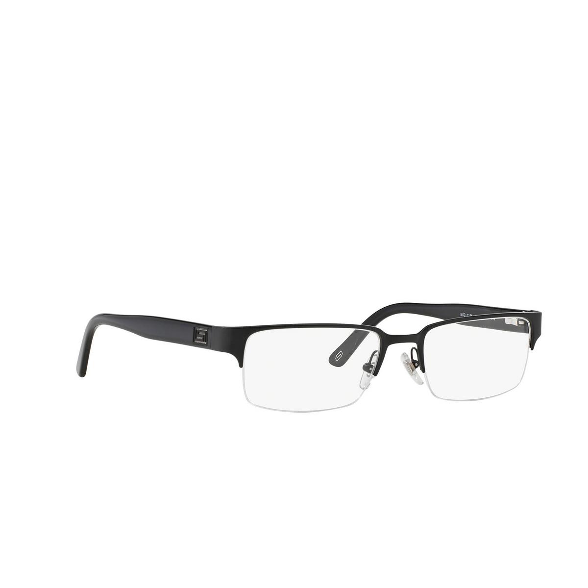Versace® Rectangle Eyeglasses: VE1184 color Matte Black 1261.