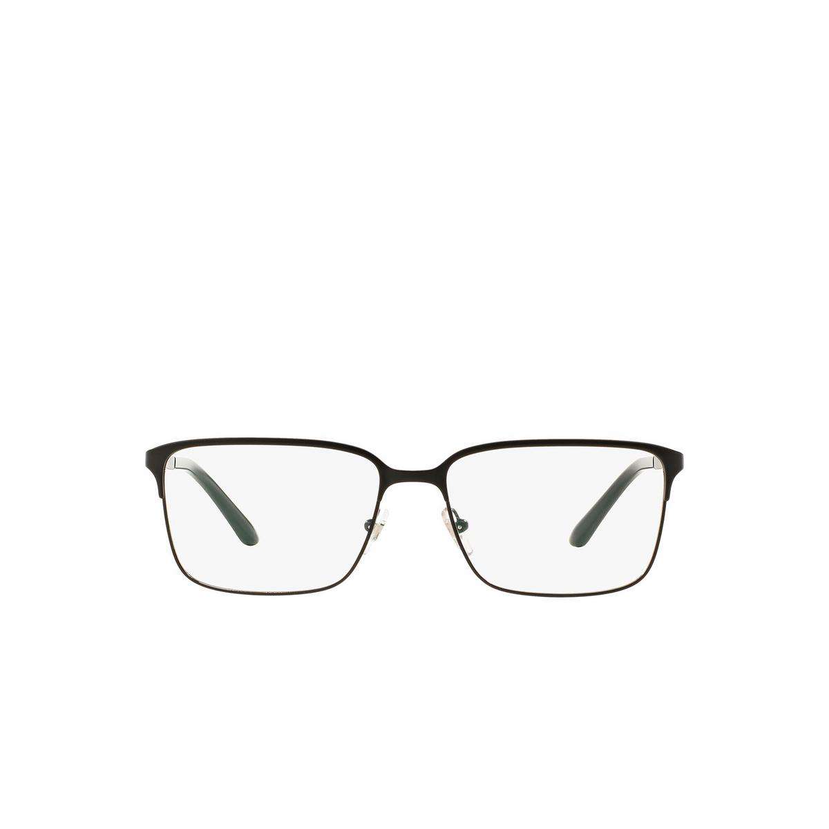 Versace® Rectangle Eyeglasses: VE1232 color Matte Black 1261.