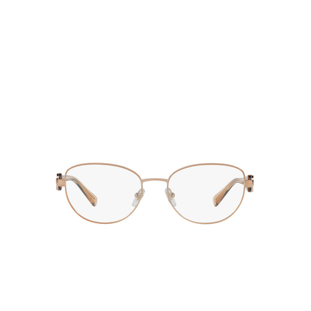 Versace® Oval Eyeglasses: VE1246B color Copper 1052 - front view.