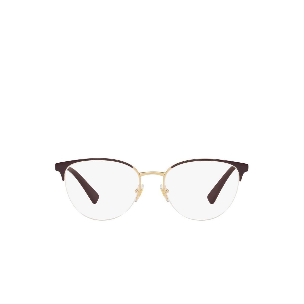 Versace® Round Eyeglasses: VE1247 color Violet / Gold 1418.