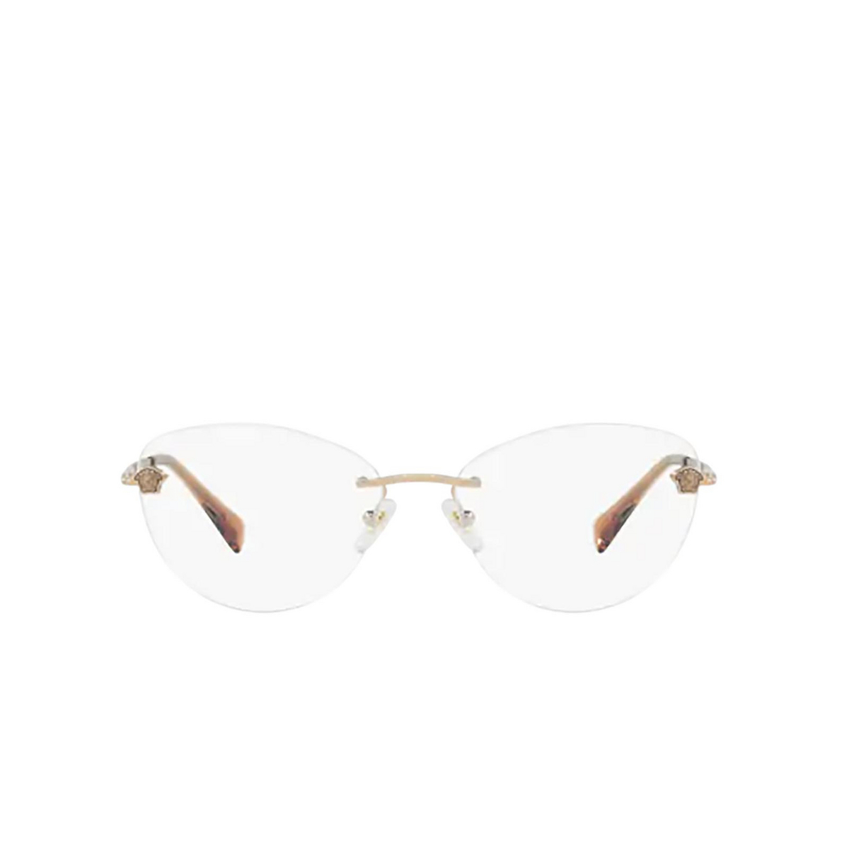 Versace® Oval Eyeglasses: VE1248B color Bronze-copper 1052 - front view.