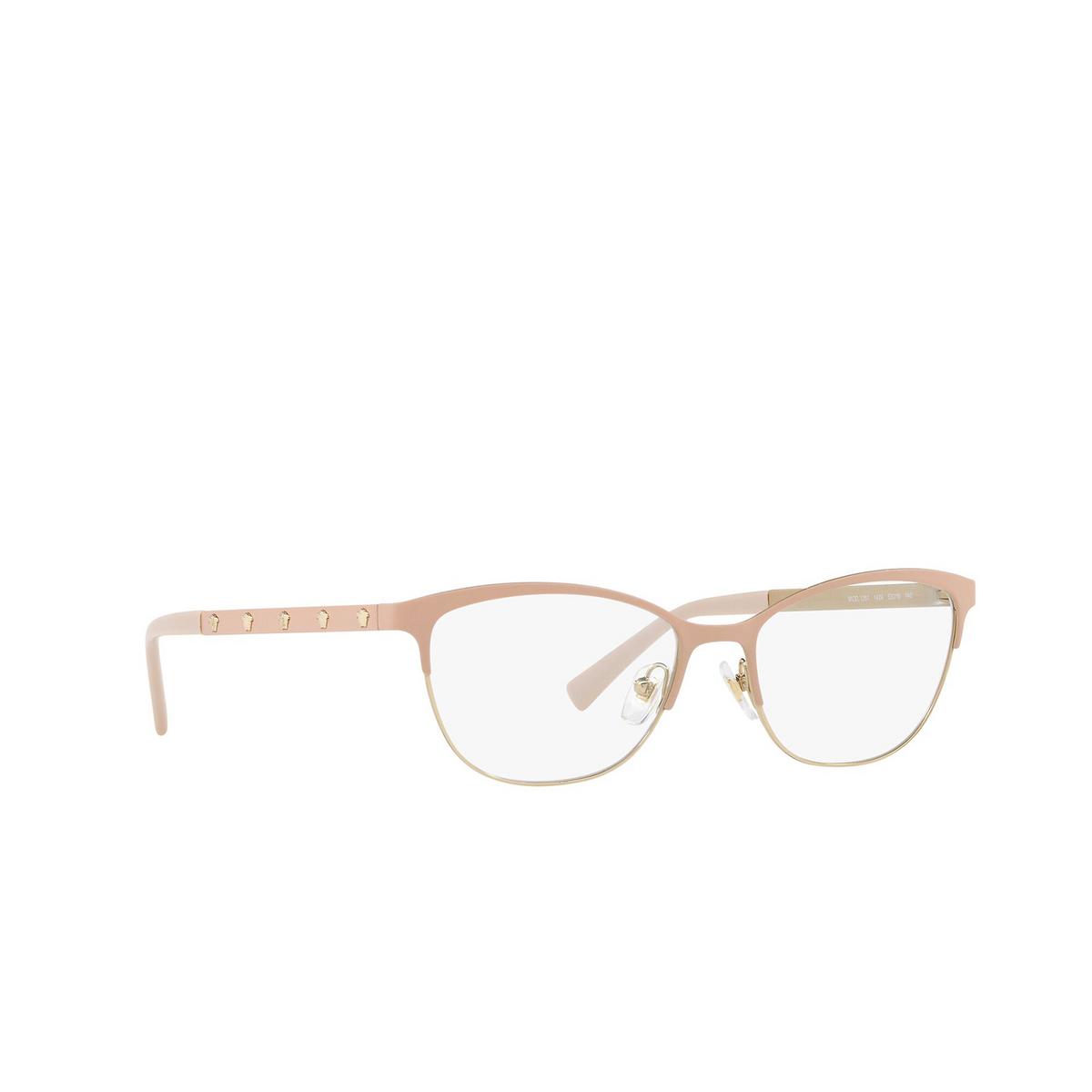 Versace® Cat-eye Eyeglasses: VE1251 color Matte Pink / Pale Gold 1424.
