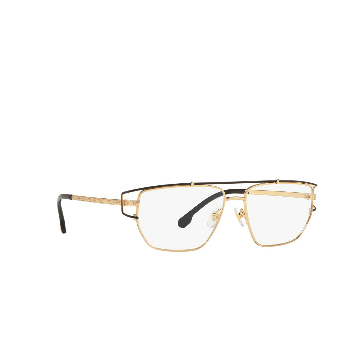Versace® Irregular Eyeglasses: VE1257 color Gold / Black 1436.