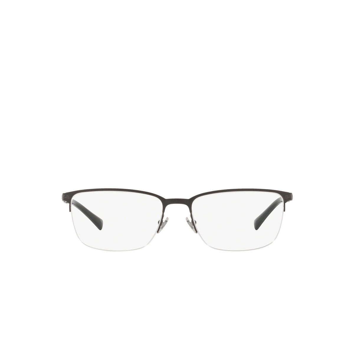 Versace® Rectangle Eyeglasses: VE1263 color Matte Black 1009.