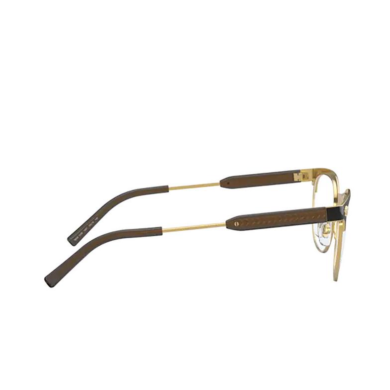 Versace® Oval Eyeglasses: VE1268 color Matte Black / Gold 1261.