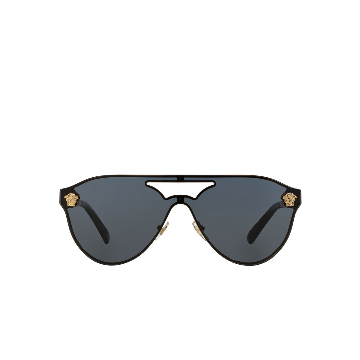 Versace® Aviator Sunglasses: VE2161 color Gold 100287 - front view.
