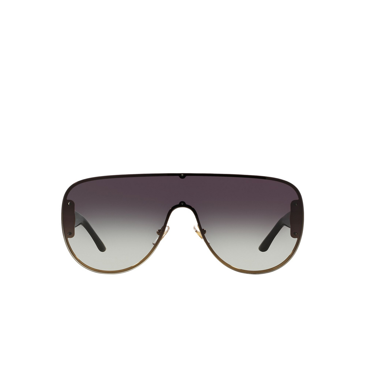 Versace® Aviator Sunglasses: VE2166 color Pale Gold 12528G - front view.
