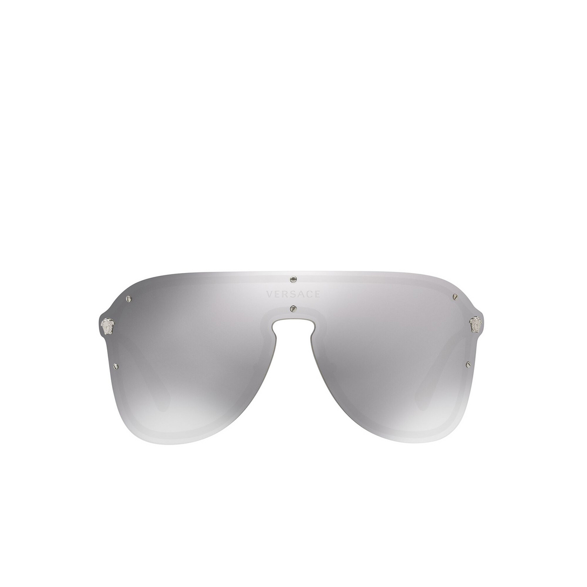 Versace® Aviator Sunglasses: VE2180 color Silver 10006G - front view.