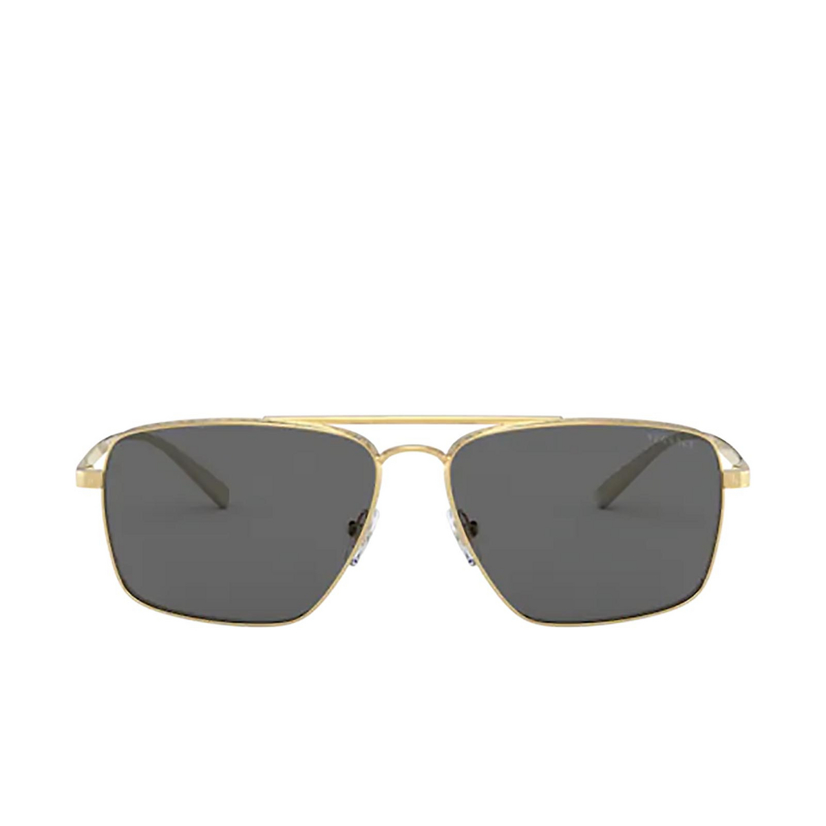 Versace® Square Sunglasses: VE2216 color Gold 100287.