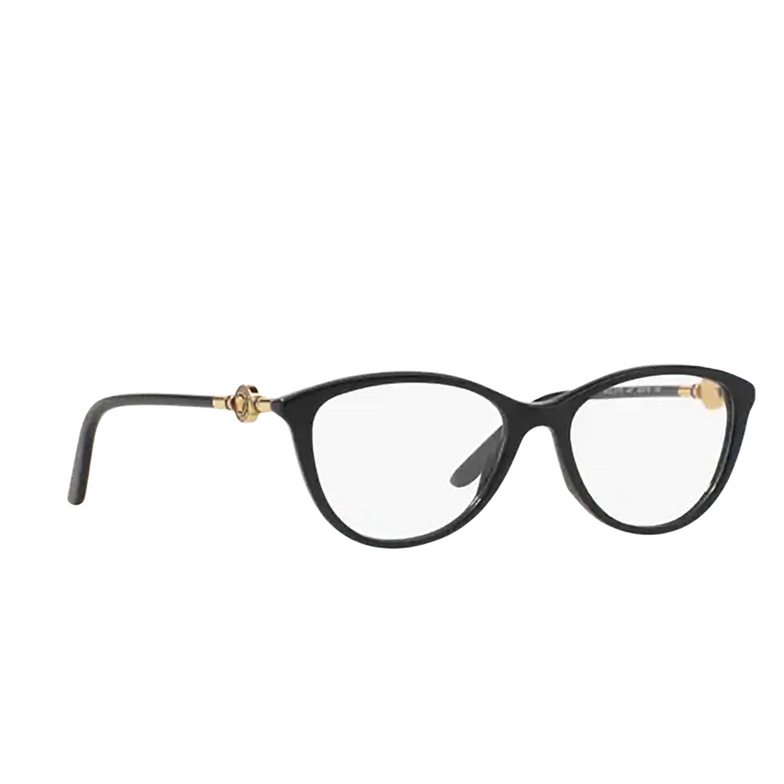 Versace® Oval Eyeglasses: VE3175 color Black GB1.