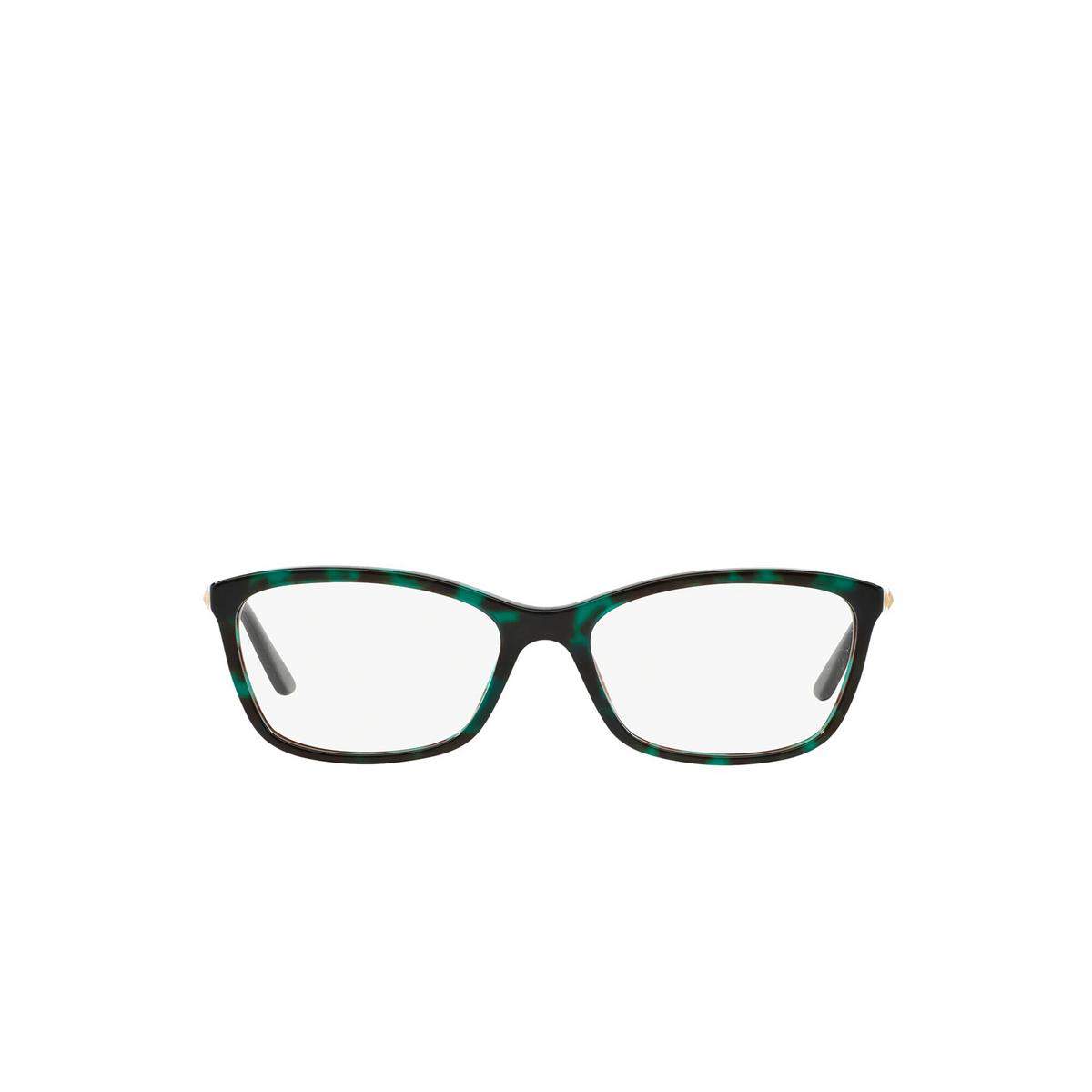 Versace® Butterfly Eyeglasses: VE3186 color Havana 5076 - front view.