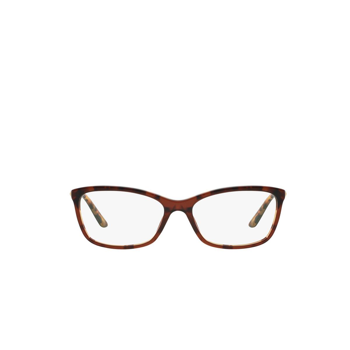 Versace® Butterfly Eyeglasses: VE3186 color Havana 5077 - front view.