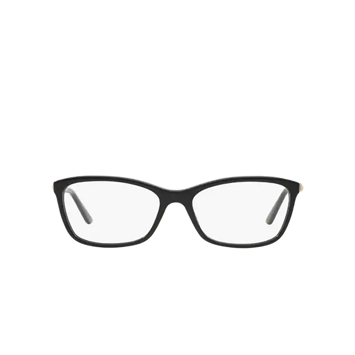 Versace® Butterfly Eyeglasses: VE3186 color Black GB1 - front view.