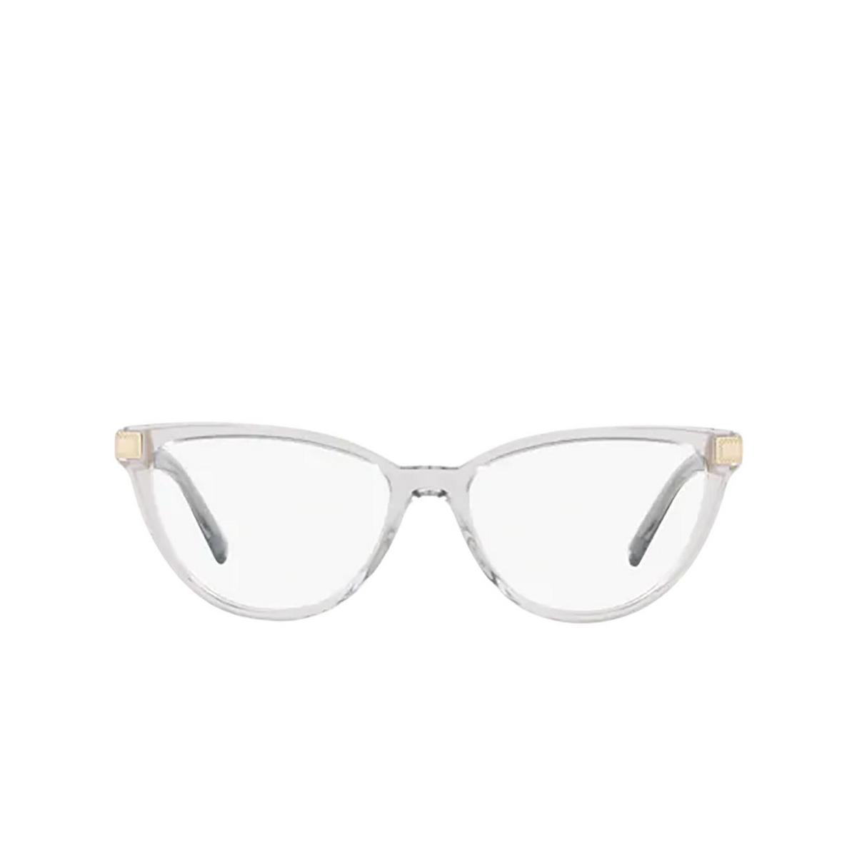 Versace® Cat-eye Eyeglasses: VE3271 color Transparent Grey 5305 - front view.