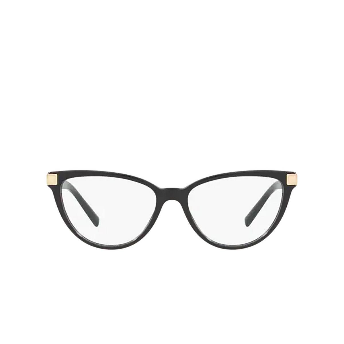 Versace® Cat-eye Eyeglasses: VE3271 color Black GB1 - front view.
