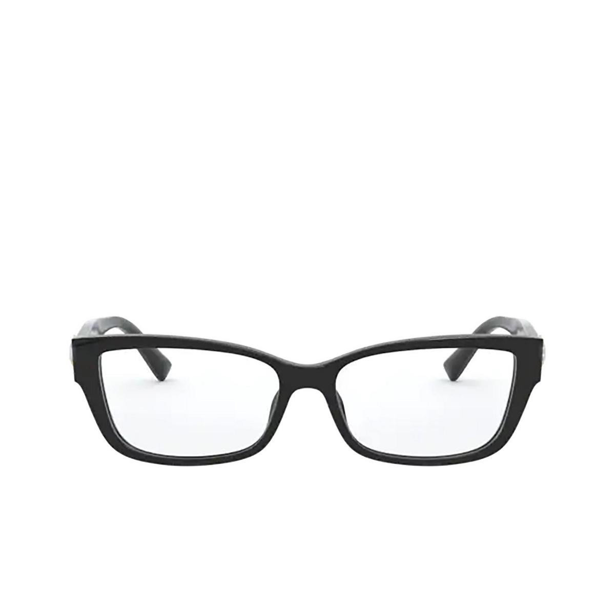 Versace® Rectangle Eyeglasses: VE3284B color Black GB1 - front view.