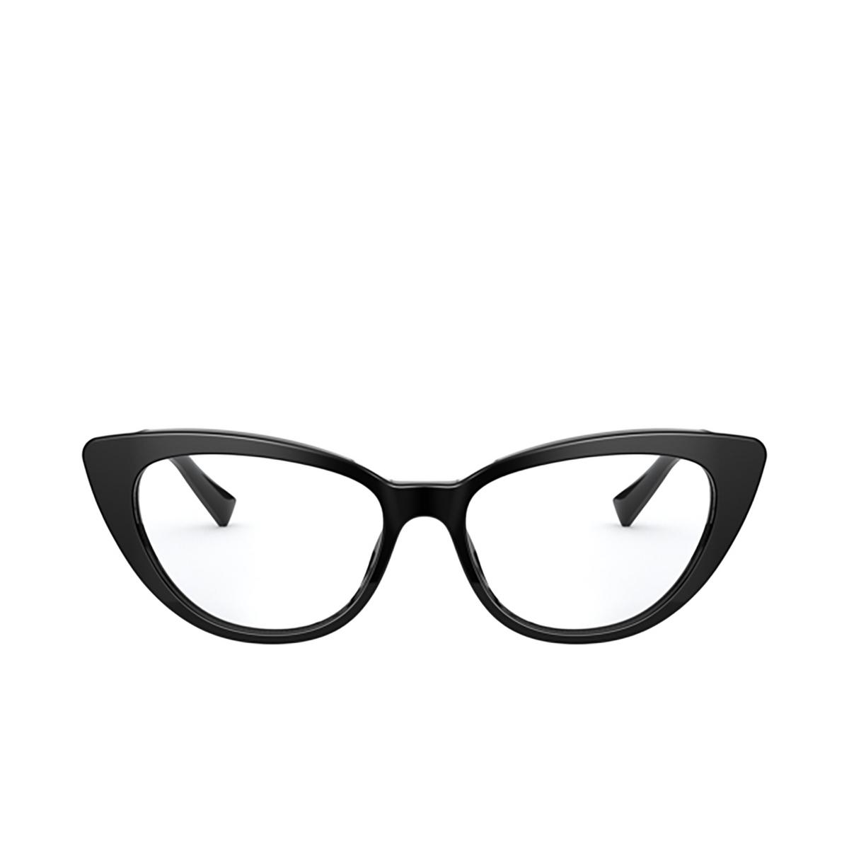 Versace® Cat-eye Eyeglasses: VE3286 color Black GB1 - front view.