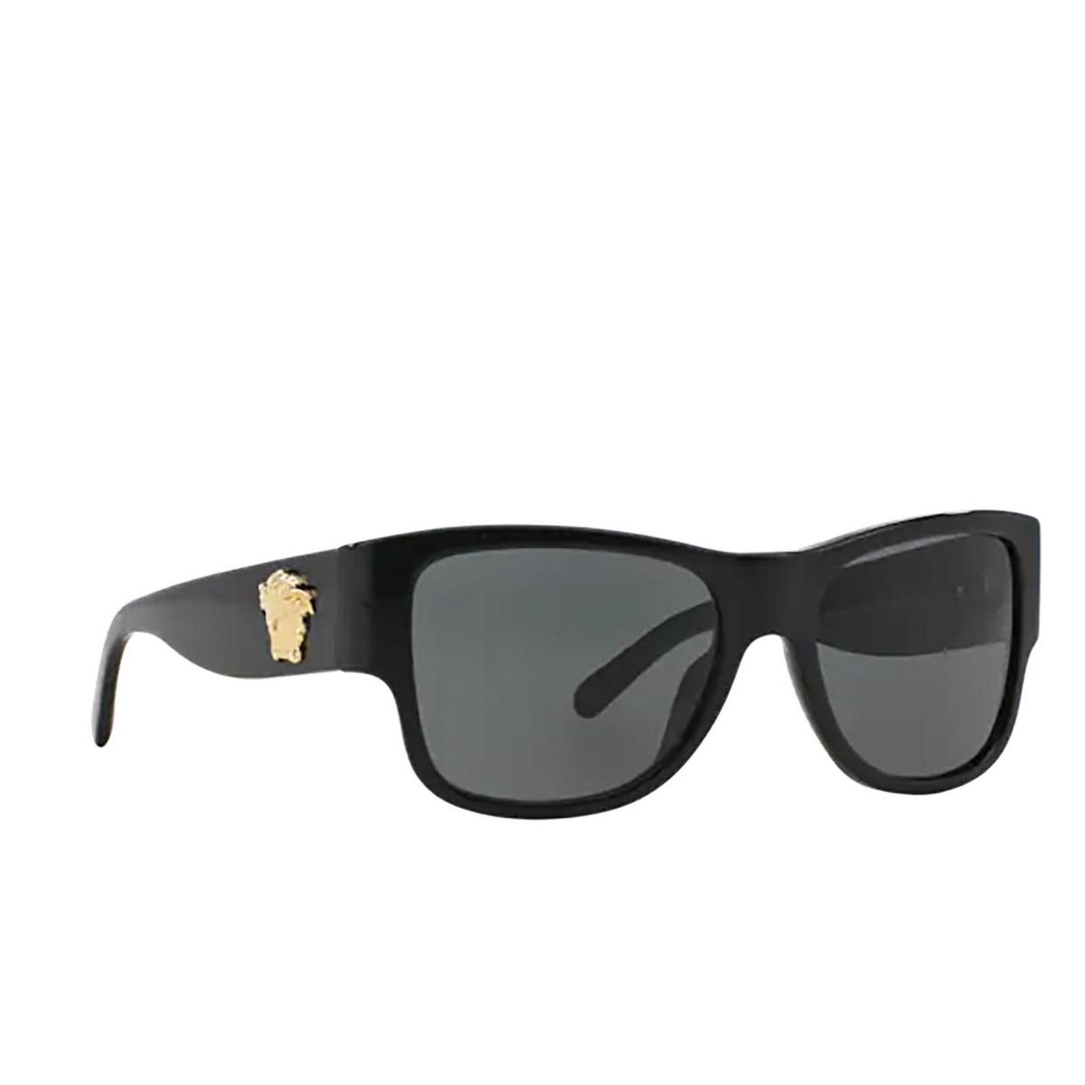 Versace® Square Sunglasses: VE4275 color Black GB1/87.