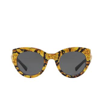 Versace® Cat-eye Sunglasses: VE4353 color Baroque Yellow / Black 528387.