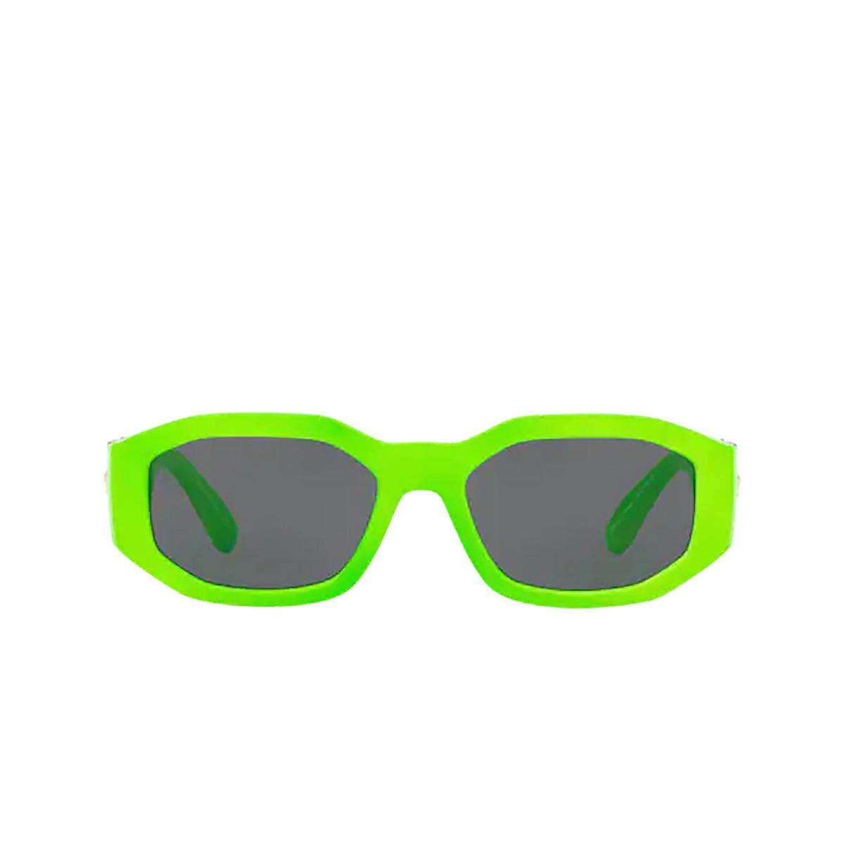 Versace® Irregular Sunglasses: VE4361 color Green Fluo 531987.