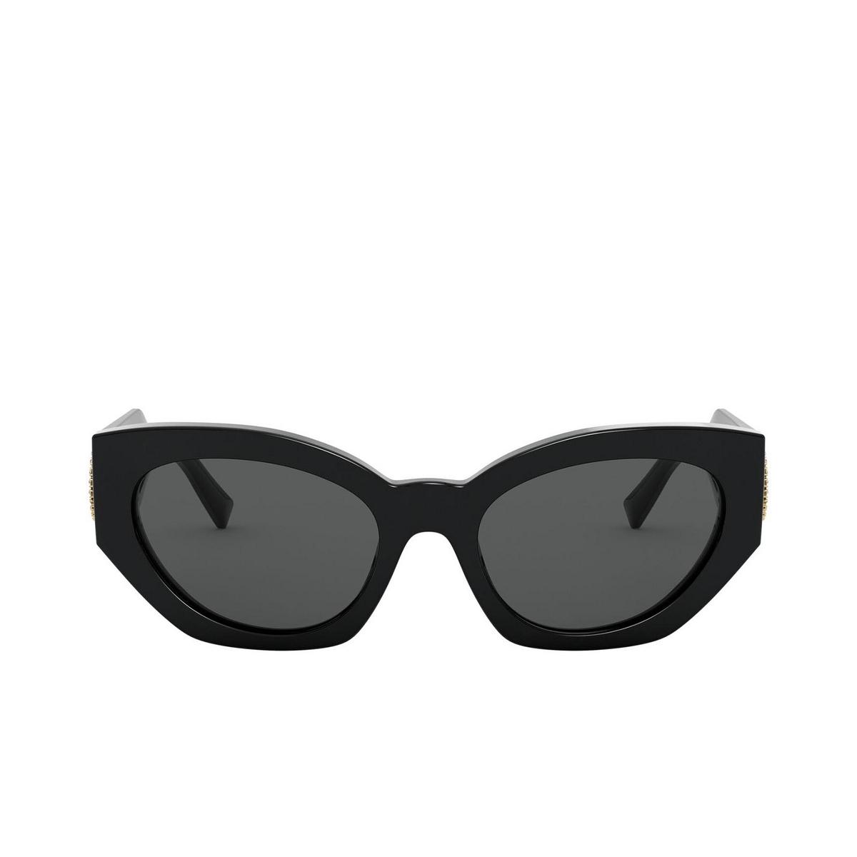 Versace® Irregular Sunglasses: VE4376B color Black GB1/87.