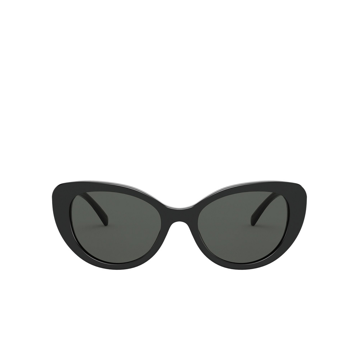 Versace® Cat-eye Sunglasses: VE4378 color Black GB1/87 - front view.