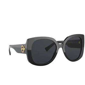 Versace® Butterfly Sunglasses: VE4387 color Black GB1/87.