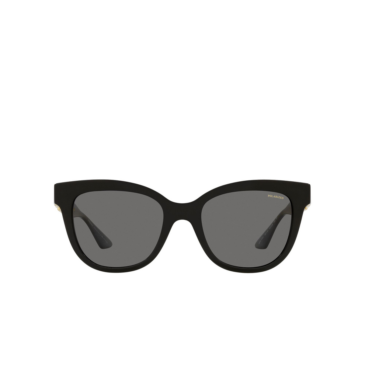 Versace® Cat-eye Sunglasses: VE4394 color Black GB1/81 - front view.