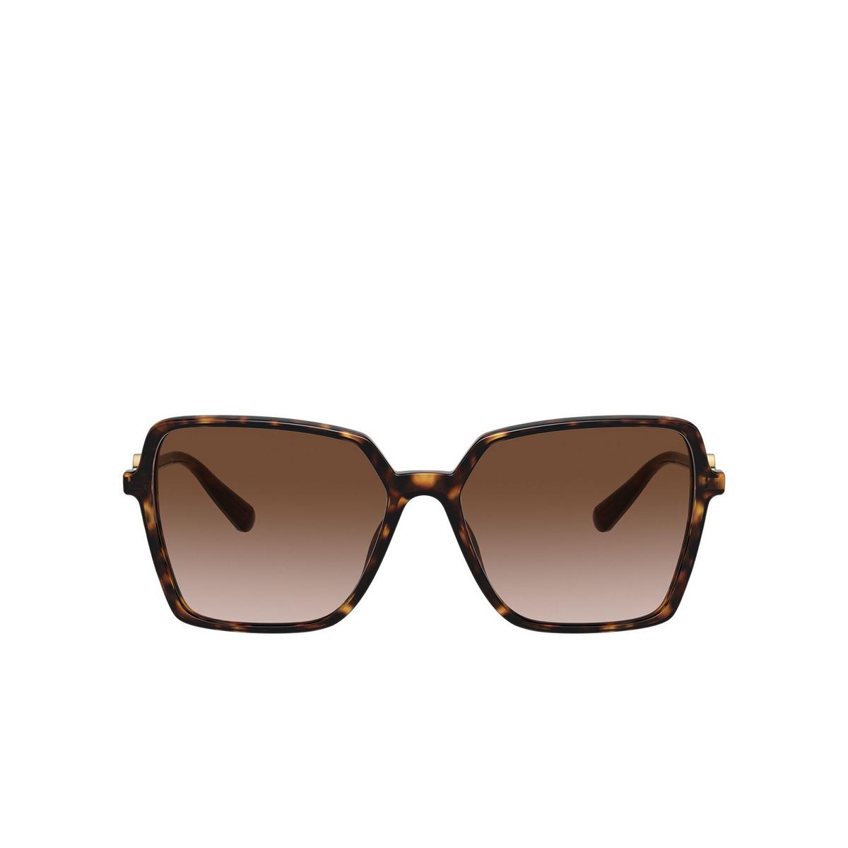 Versace® Square Sunglasses: VE4396 color Havana 108/13 - front view.