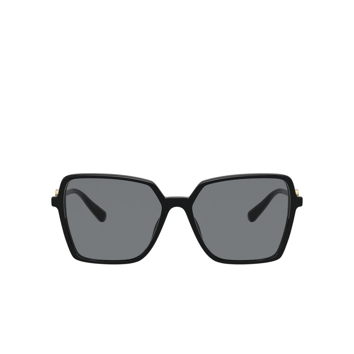 Versace® Square Sunglasses: VE4396 color Black GB1/87 - front view.