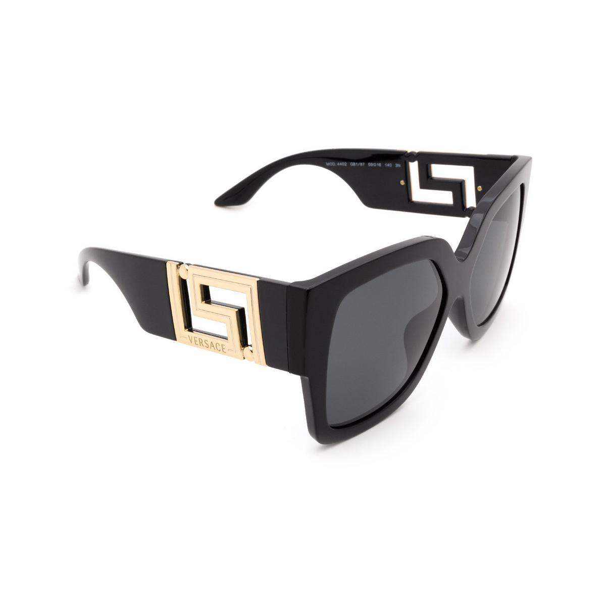 Versace® Square Sunglasses: VE4402 color Black GB1/87.